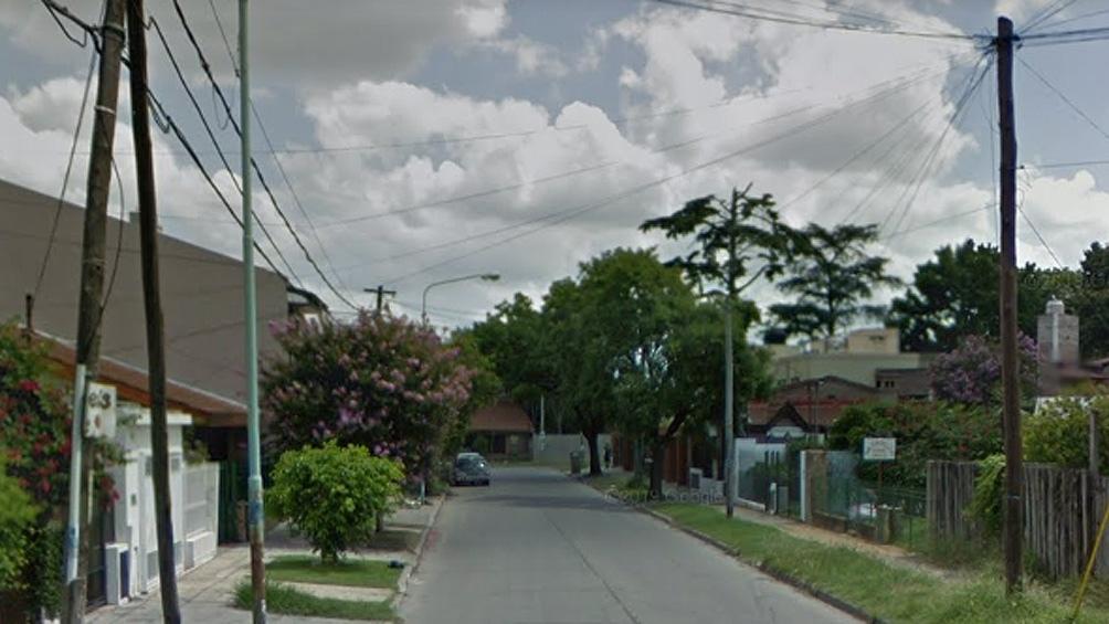 La joven fue sorprendida en la intersección de las calles San Juan Bautista y Asconape
