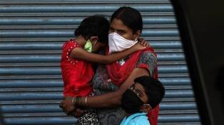 India recibe más ayuda internacional por el brote de coronavirus