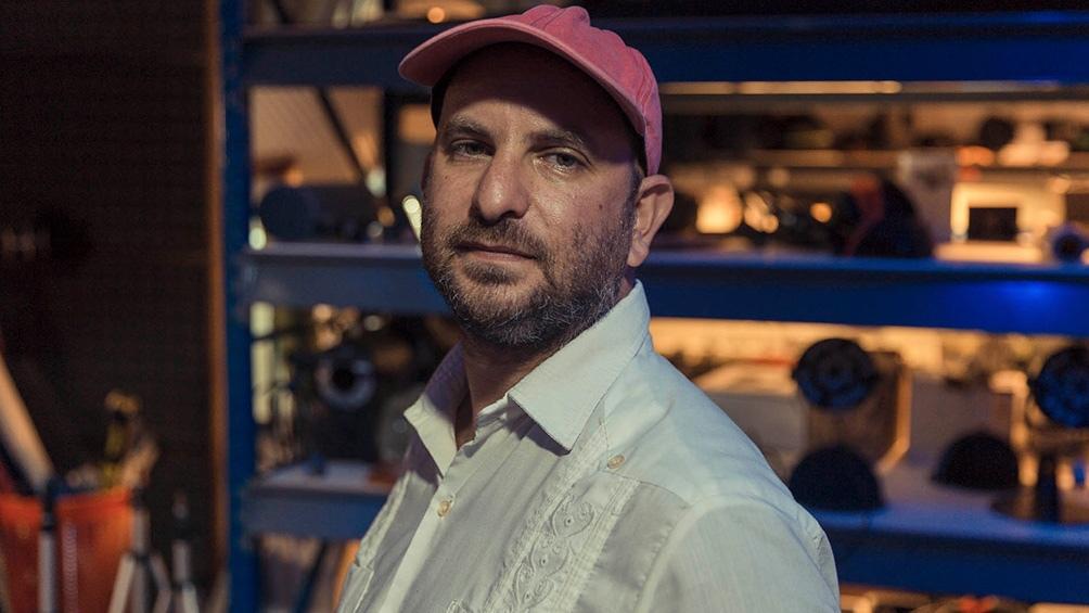 El director Tomas Lipgot