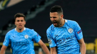 Manchester City lo dio vuelta ante el Dortmund y clasificó a semifinales