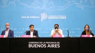"""Kicillof: """"La provincia adhiere a las medidas que dictó el Presidente de manera taxativa"""""""