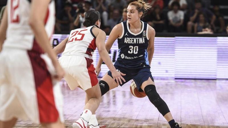 """Flor Chagas: """"Me voy a desmayar cuando entre a un estadio de la WNBA"""""""