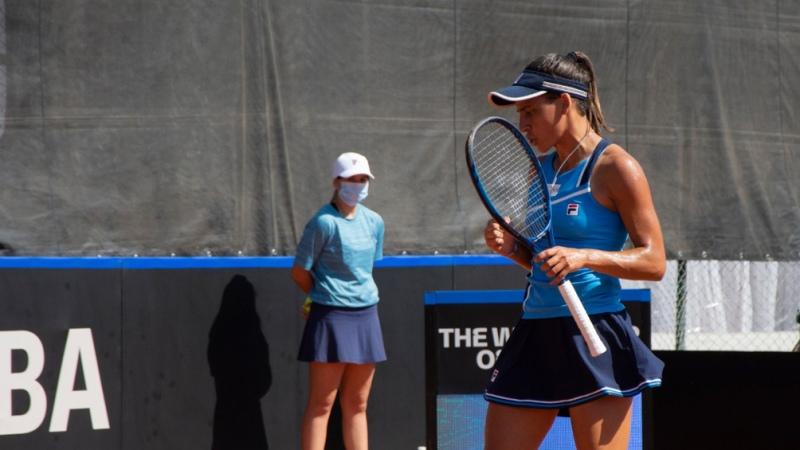 Lourdes Carlé dio la sorpresa y emparejó la serie entre Argentina y Kazajistán