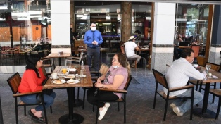 La Ciudad de Buenos Aires clausuró dos locales gastronómicos por no cumplir con las restricciones