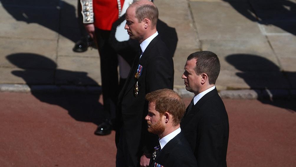 Las miradas estaban puestas en la tensa relación entre el príncipe Enrique y su hermano.