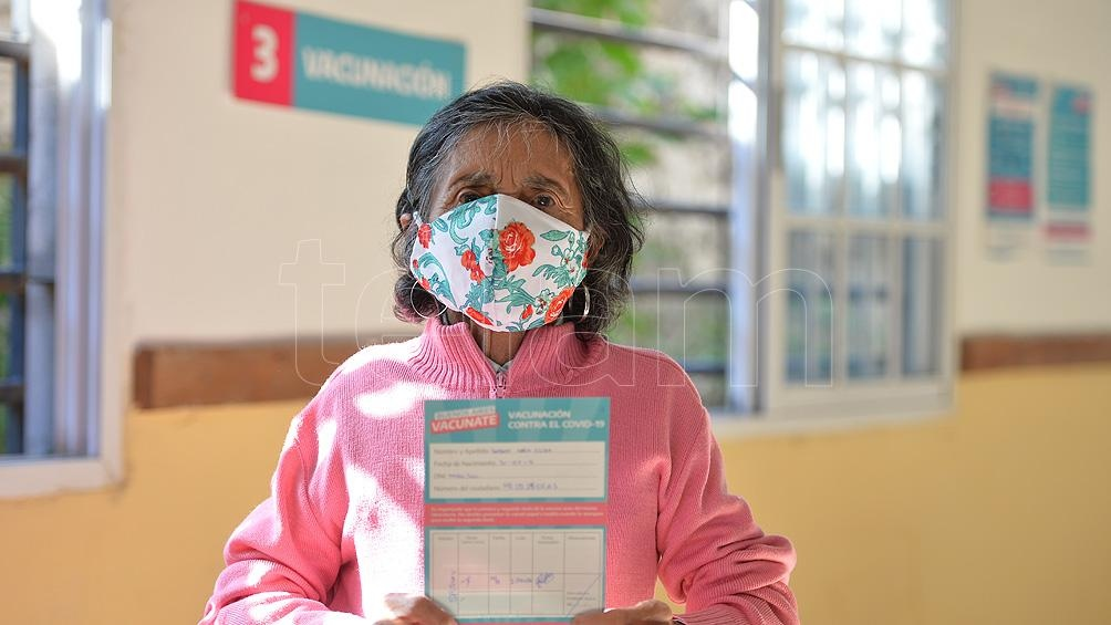 """""""La inmunización de las y los adultos mayores de 70 años fue una de las máximas prioridades del Plan de vacunación"""""""