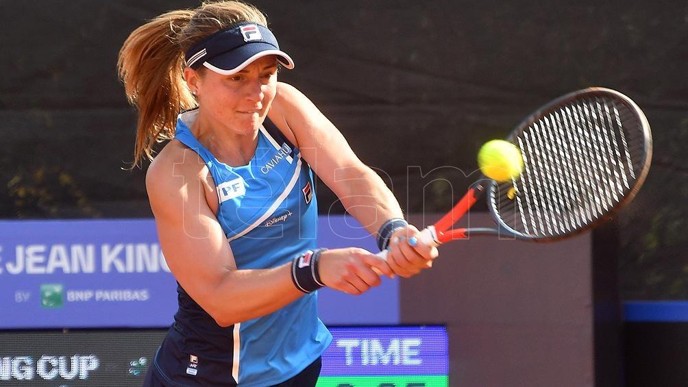 Nadia Podoroska, afuera de Indian Wells