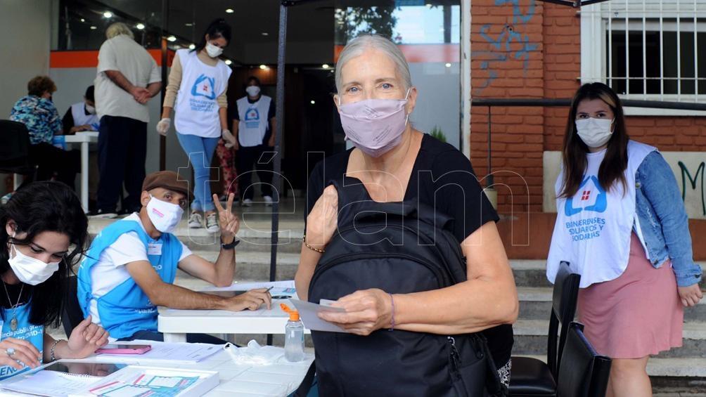"""Bettina Priotti: """"El día que me vacuné fue un día muy, muy feliz para mí"""""""