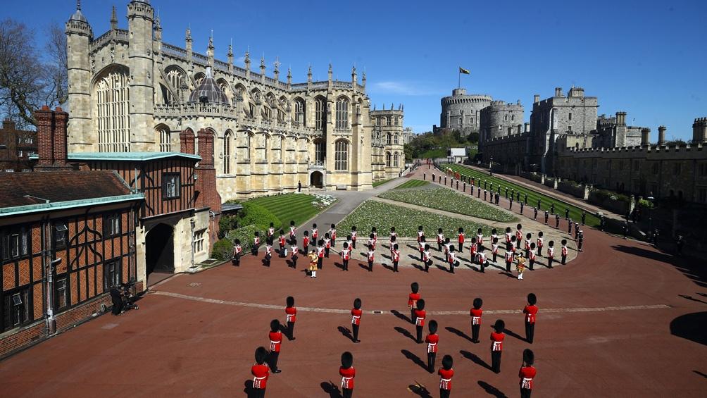 El duque también seleccionó las canciones que se cantaron en el funeral.
