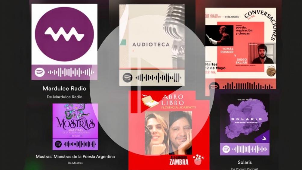 Los podcasts, una forma nueva de acercarse a la literatura.