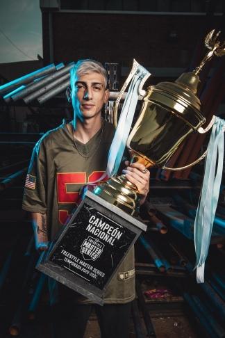 Stuart se consagró como campeón.