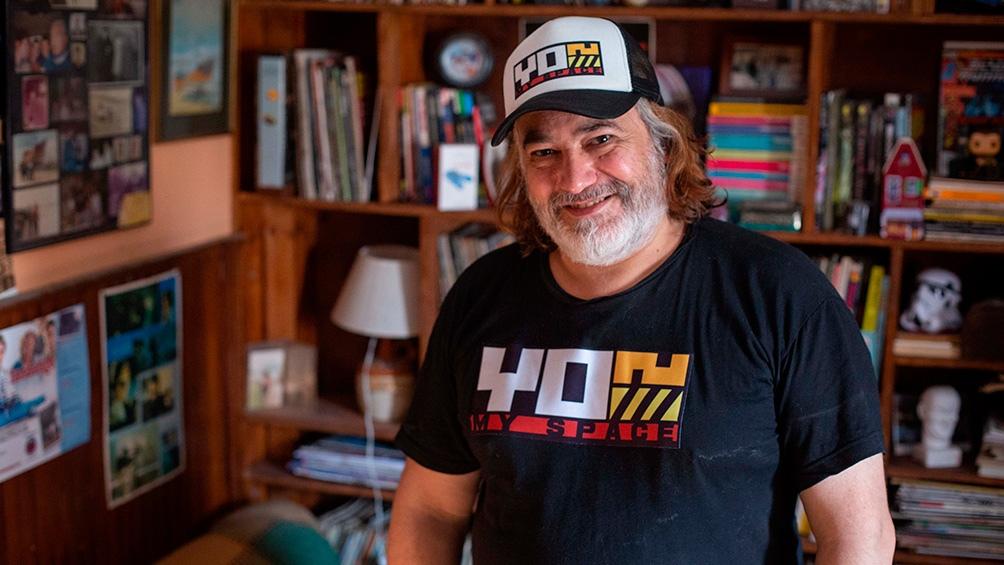 El dibujante Juan Carlos Quattordio