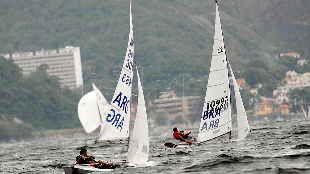 La Vela fue medalla de oro en Río de Janeiro 2014 con la dupla Santiago Lange y Cecilia Carranza Saroli. en  Nacra 17.
