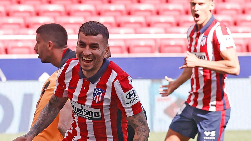 Ángel Correa vive un gran presente en el Atlético Madrid y fue citado pero su llegada está en duda.