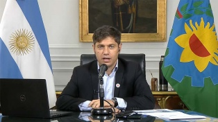 Kicillof dará una conferencia de prensa por las nuevas medidas sanitarias