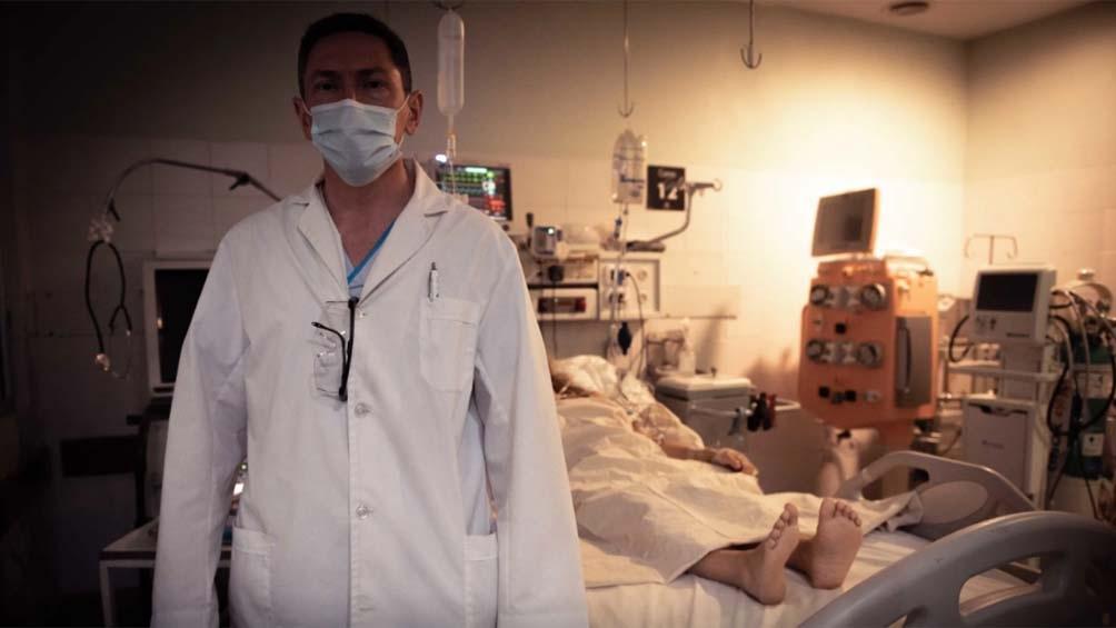 """""""Tenemos camas de terapia aún, pero no las necesarias para afrontar esta situación pandémica compleja y dinámica""""."""