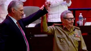 Díaz-Canel y Putin saludaron a Raúl Castro por su cumpleaños 90