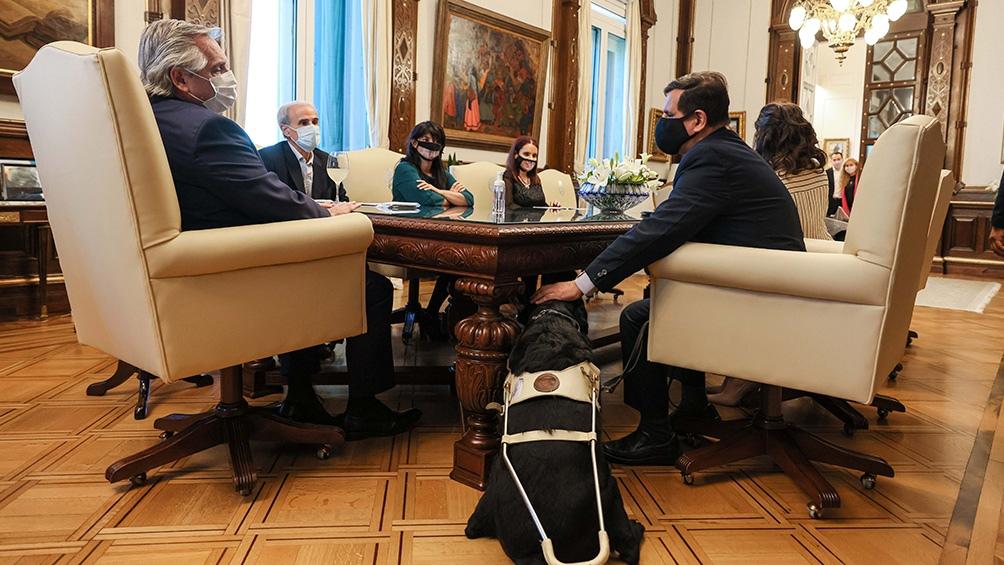 """""""La perspectiva de discapacidad debe ser transversal a todas nuestras políticas públicas"""", enfatizó Fernández."""