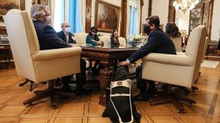 El Presidente se reunió con las autoridades de la Agencia Nacional de Discapacidad