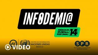 "La televisión pública mexicana presentó ""Infodemia"", en colaboración con Télam"