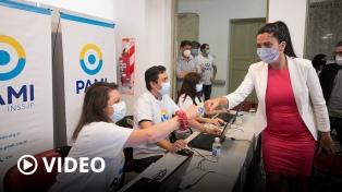 PAMI comenzó a vacunar contra el coronavirus en la Ciudad de Buenos Aires