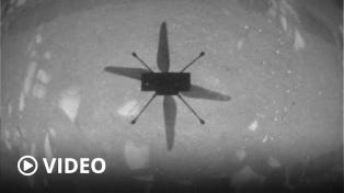 El Ingenuity realizó su primer vuelo en Marte, hazaña comparada a la de los hermanos Wright