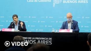 """Desde la provincia de Buenos Aires afirman que las medidas restrictivas """"están dando resultado"""""""