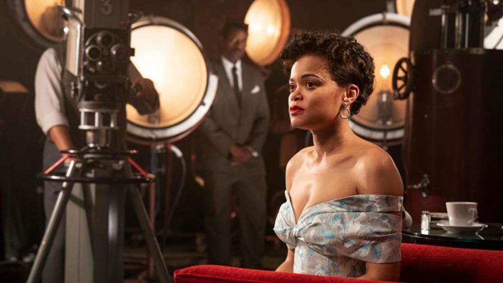 """Andra Day en 2017 fue nominada a un Oscar pero por su voz: Mejor Canción original por """"Stand Up for Something"""", del filme """"Marshall""""."""