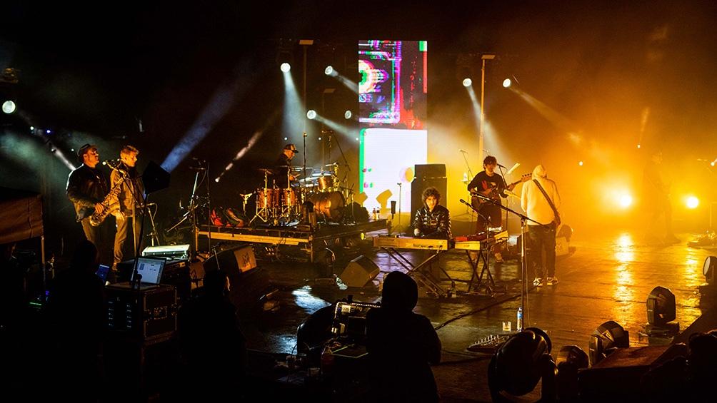Los problemas en la plataforma de emisión generaron que la banda liberase el concierto.