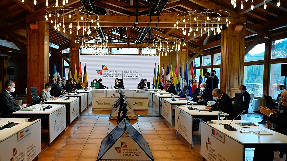 La cumbre busca también respuestas para la recuperación postpandemia, tras la debacle económica de 2020.