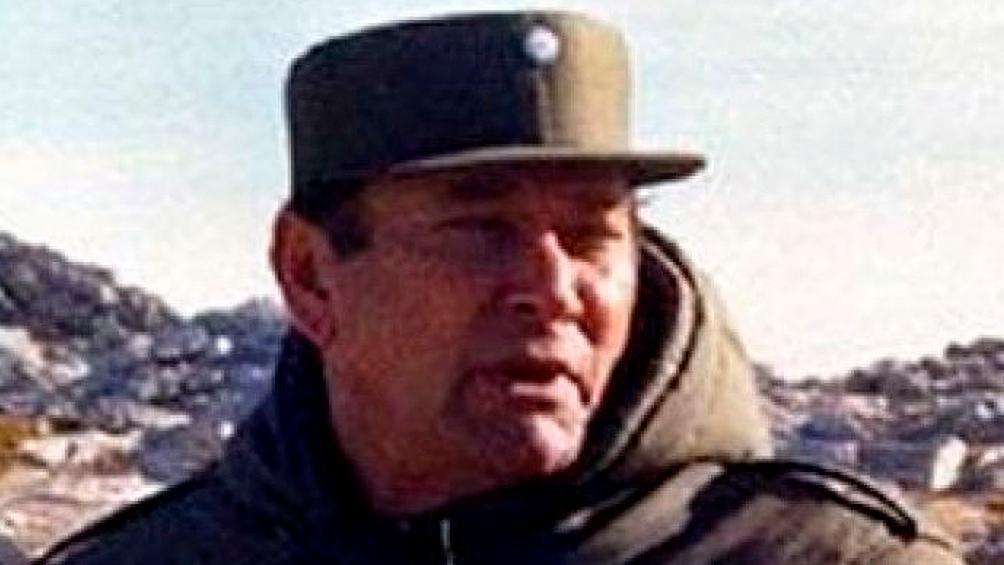 El general Omar Parada también fue señalado como represor durante la última dictadura.