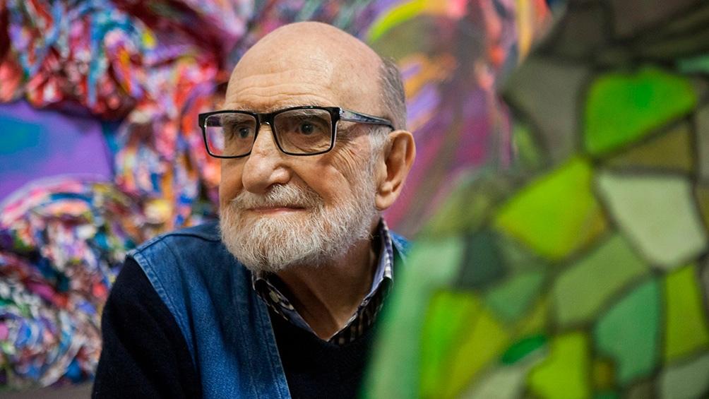 El artista Luis Felipe Noé es uno de los referentes de la escena artística de la década del 60.