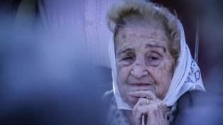 Murió Mercedes Colás de Meroño, vicepresidenta de la Asociación Madres de Plaza de Mayo