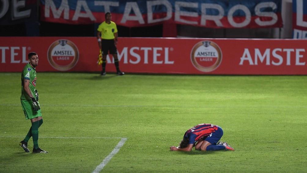 """El """"Ciclón"""" no pudo generar jugadas claras de ataque. (Foto: CONMEBOL)"""