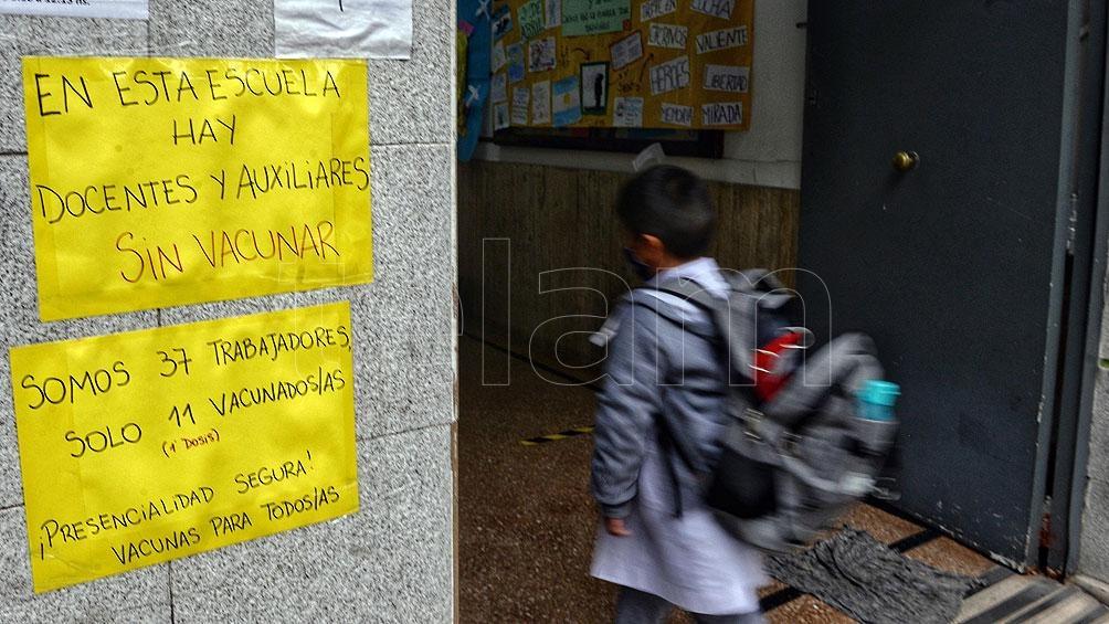 Los sindicatos docentes mayoritarios continúan de paro en la ciudad de Buenos Aires.