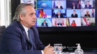 El Presidente confirmó que asistirá a la Cumbre de Líderes por el Cambio Climático