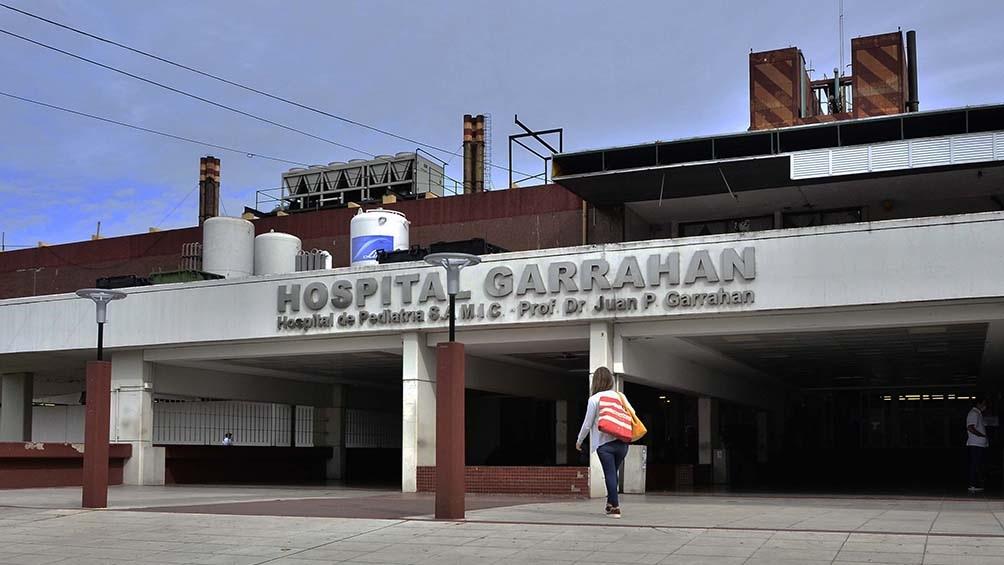 El Hospital Garrahan tiene la casi totalidad de camas de coronavirus ocupadas.