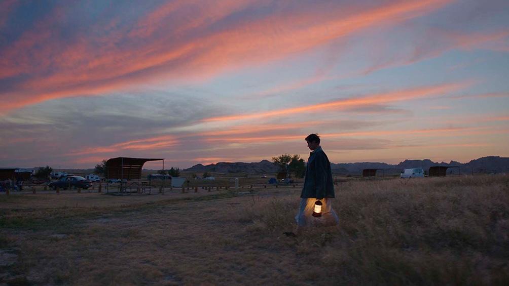 """""""Nomadland"""", el filme de Chloé Zhao, protagonizado por Frances McDormand."""