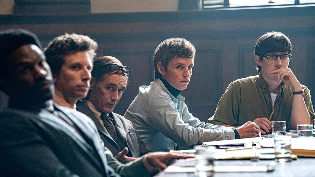 """""""El juicio de los 7 de Chicago"""" aquí se puede ver en Netflix."""