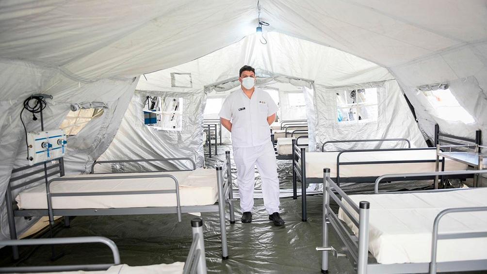 El centro de salud móvil fue donado a la Argentina por la República Popular China.