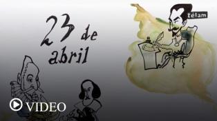 """23 de abril: """"Día del libro"""""""