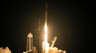Despegó la tercera misión tripulada de Space X hacia la estación espacial