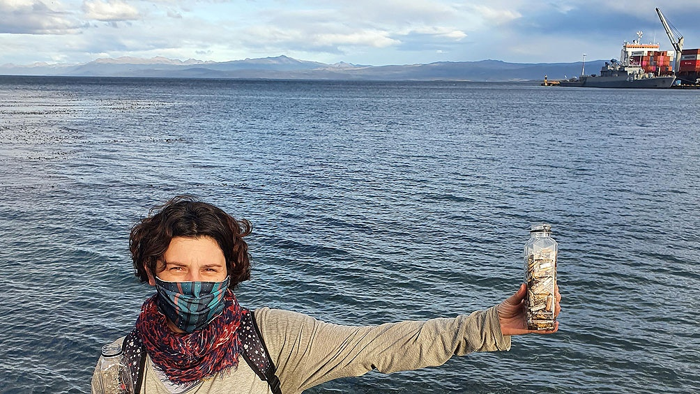 En el caso particular de Ushuaia, por el tipo de geografía, se genera una concentración de colillas en la zona costera.
