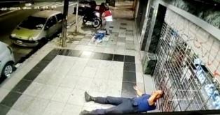 Un policía herido y dos ladrones detenidos con ayuda de un delivery, tras un raid que terminó en Ramos Mejía