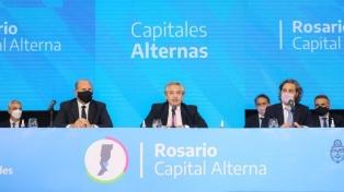 Fernández anunció obras por más de 76.000 millones de pesos para Santa Fe