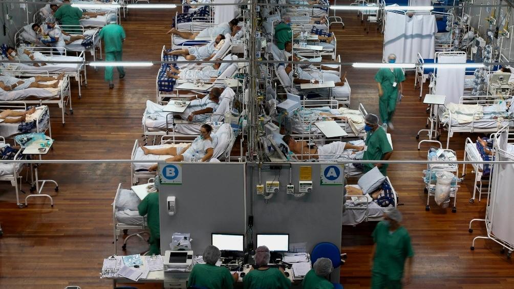 Brasil, sede de la Copa América de fútbol, es el país con más muertes en las últimas 24 horas