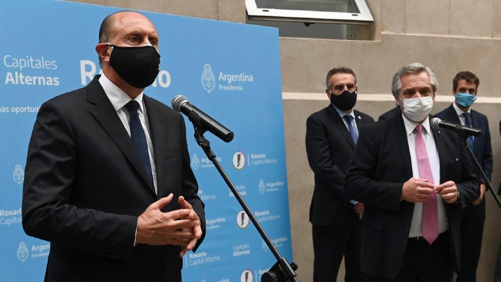 Durante su visita a Rosario, el Presidente manifestó su preocupación por los homicidios en la ciudad.