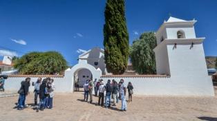 Restauraron la iglesia de Uquía, monumento histórico de la Quebrada de Humahuaca