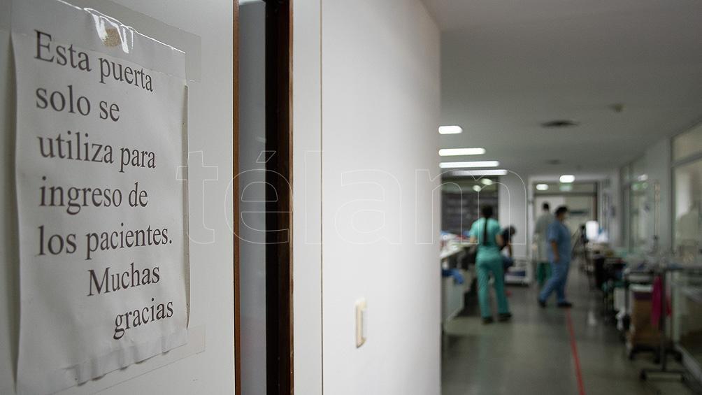 """""""Estamos en una situación de colapso"""", resumió el jefe del departamento de Riesgo Médico Legal del Hospital Muñiz."""