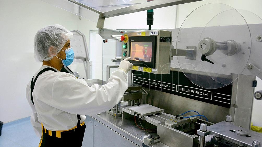 El lote inicial del laboratorio rionegrino será de entre 30.000 y 50.000 comprimidos.
